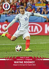Rare Panini Instant Euro 2016 card #67 Wayne Rooney (England) Manchester United