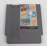 Super Mario Bros./Duck Hunt/Track Meet (Nintendo NES, 1988) Game BF5 *Untested*