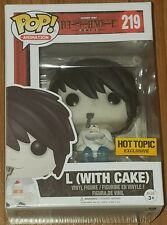 Funko Pop Animation #219 L (with Cake) Death Note Hot Topic Exclusive