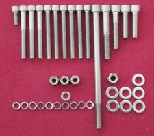 LOTUS FORD CROSSFLOW TWIN CAM  ENGINE REBUILD 11 x  stainless cap head bolt kits