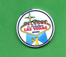 Vintage Welcome To Fabulous Las Vegas $1 Collectible 10g Poker Chip Pioneer Club