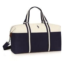 Ralph Lauren Polo Mens Weekend Holdall Duffel Sports School Gym Travel Bag NEW