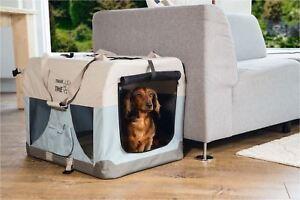 Beeztees®  Hundetransporttasche Hundetragetasche Transportbox Nylon 6 Größen