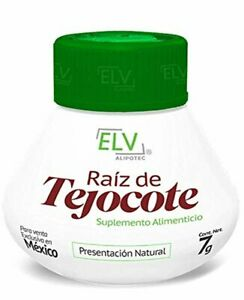 *Brand New Design* Original Elv Alipotec Tejocote Root Treatment - 1 Bottle (3 M