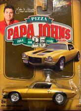 Johnny Lightning Papa John's 1971 Johns Chevrolet Camaro Z28 71 Chevy 1:64 (Y)