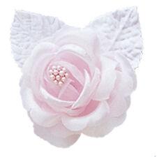 12 silk roses wedding favor flower corsage pink