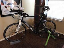 kestrel talon Triathlon Bike With Many Extras- Less Than 100 Outdoor Miles
