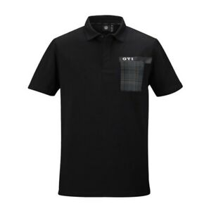 VW GTI Herren T-Shirt Gr. XL Poloshirt Schwarz