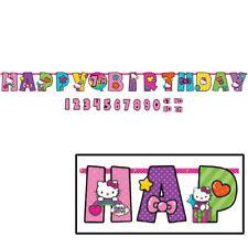 Hello Kitty Add an Age Happy Birthday Jumbo Letter Banner Kit