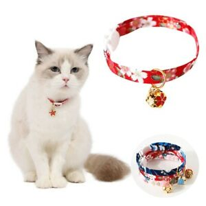 Bell Safety Adjustable Cat Collar Kitten Accessories Pet Products Cat Supplies