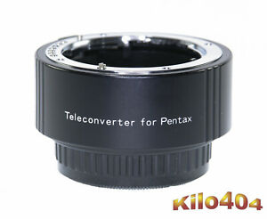 Phoenix für Pentax 2x AF Telekonverter ✯ SDM ✯ TOP ✯ K Bajonett ✯ K-5 ✯ KP ✯ K-1