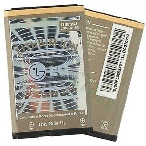 LG CU400 CU405 Longhorn LGIP-A1100 Replacement OEM Creme Colored Battery