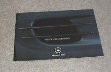 Mercedes SL Roadster Preview Brochure 2001-2002 - SL500 & SL55 AMG