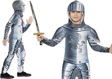 Childs Armoured Knight Fancy Dress Costume Kids Childrens Outfit by Smiffys New
