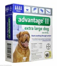 Bayer Advantage II Dogs over 55lbs with IGR 4 Months Supply  EPA Product