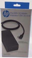 HP - N8N14AA - 45W Smart USB-C Power Adapter