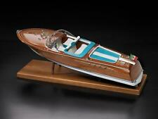 """Beautifully Detailed Wooden Model Ship Kit by Amati: the """"Italian Runabout"""""""