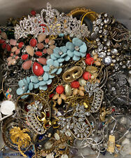 4 POUNDS - Vintage to Now LARGE Jewelry Lot - Estate; Some Signed