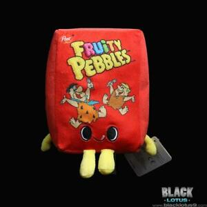 """Funko Pop! Plush Fruity Pebbles Box Fred Barney Plushies Foodies 7"""" IN STOCK Pop"""