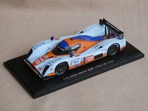 Aston Martin Lola at Le Mans 2009, no 009, 1:43 Spark model in box. A1 condition