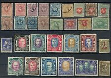LIETUVA - LITHUANIA 1919-1922 - 30 OLD STAMPS - MOSTLY USED