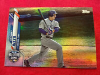 ⚾️2020 Topps Update ANTHONY RIZZO RAINBOW FOIL insert#U201 CUBS⚾️