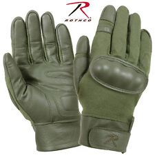 NEW! Rothco Hard Knuckle Tactical Assault Tactical Gloves 3417 Olive Drab Medium