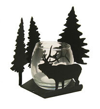 Bull Elk Candle Holder