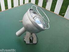 Original Firemans Spun Aluminum Bright Star Search Light Eames ERA