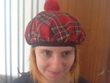 See You Jimmy Hat in Red Tartan