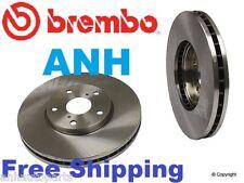 2-Brembo 25555 (Pair) Front Disc Brake Rotors Lexus GS  IS LS SC