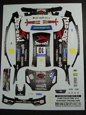 DECALS 1/32 FORD FOCUS WRC  - #10 - RANTANEN - FINLANDE 2009 - COLORADO  32171