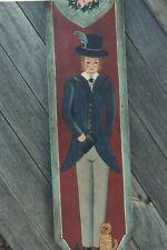 DOXIE KELLER Victorian Gentleman Decorative Tole Painting Pattern Packets OOP