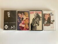LOT OF 4  AMY GRANT CASSETTE Tapes music
