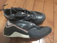 DIESEL Women Clown Fish W Gray Pink Leather Suede Tennis Sneakers Shoes Size 8.5