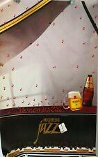 """Michelob Beer Poster Jazz Vintage 35"""" x 22"""""""
