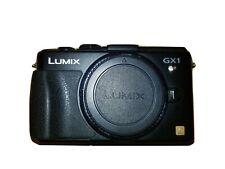 Panasonic LUMIX DMC-GX1 16.0MP Digital Camera - Silver (Body Only)