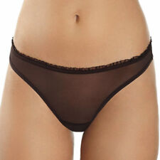 TANGO SHEER MESH THONG in BROWN sexy comfy fine European lingerie
