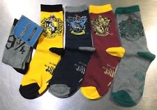 PACK 5 CALCETINES HARRY POTTER Socks Socken Chaussettes Calzini Harry Potter T.U