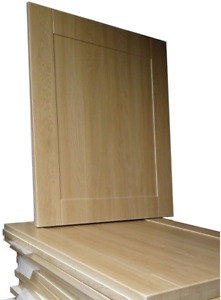 Shaker Light Oak Kitchen Cupboard Doors/drawers compatible with Howdens Kitchens