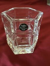 ROSENTHAL DOMUS CLEAR LEAD CRYSTAL VOTIVE CANDLE HOLDER