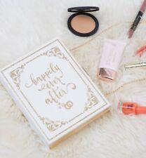 Bride Bridal Wedding HAPPILY EVER AFTER Box Clutch Handbag Fairytale White Gold