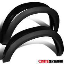 For 2009-2018 Dodge Ram 1500 Black Factory Style Smooth Fender Flares Protector
