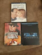 Lot of 3 Dvd'S The Story of Us Hudson Hawk, & Unbreakable Staring Bruce Willis