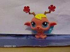 Littlest Pet Shop Orange Fairy with Blue Wings #2832