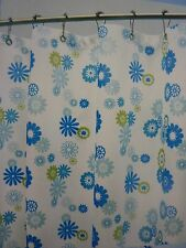 """Watershed Park W. Smith Starburst Floral Fabric Shower Curtain 72"""" x 72"""" NIP"""