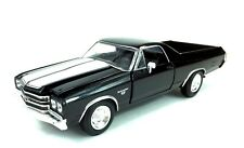 1970 Chevrolet El Camino SS Muscle Car Collectible Diecast 1: 25  New Ray Black