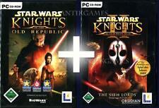 Star Wars Knights of the Old Republic 1 & 2 Deutsch PC KEIN!IMPORT KOTR I & II