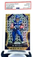 2019 Prizm LAZER Seahawks DK METCALF RC CARD PSA 10 GEM MINT / LOW PSA POP!!!!