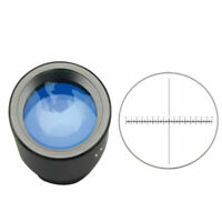 WF10X Widefield Eyepiece with 0.1mm Micrometer for Biological Microscope 23.2mm